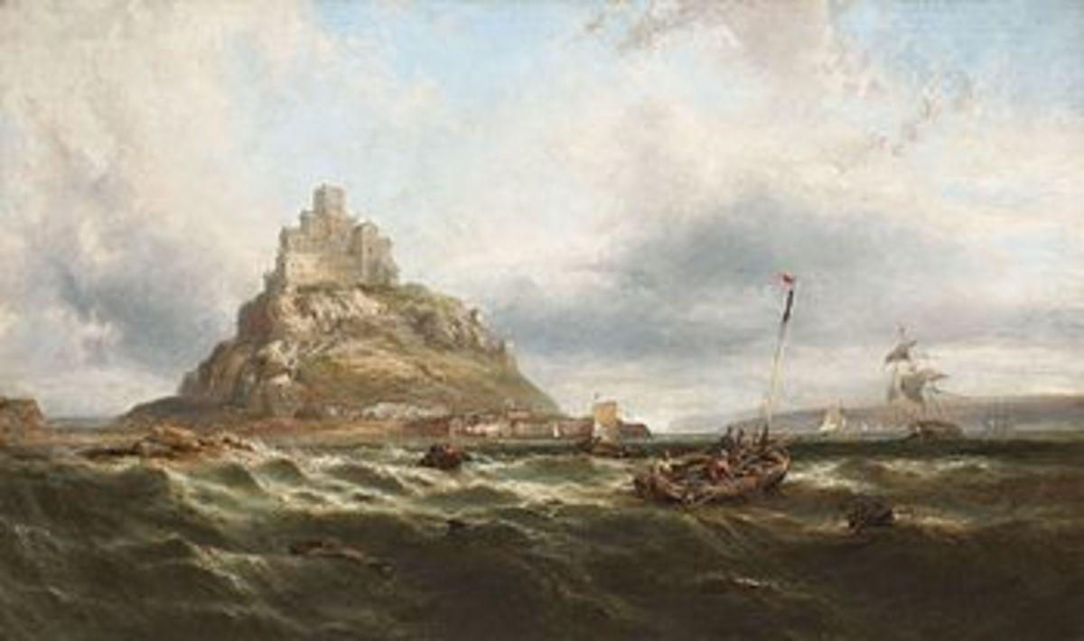 St. Michael's Mount -- James Webb circa 1890