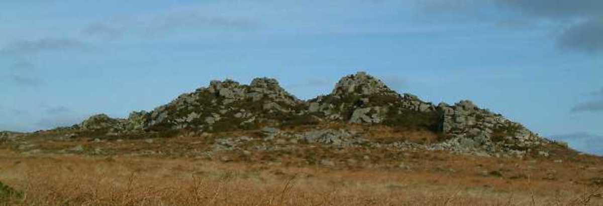 Carn Galva rock formation