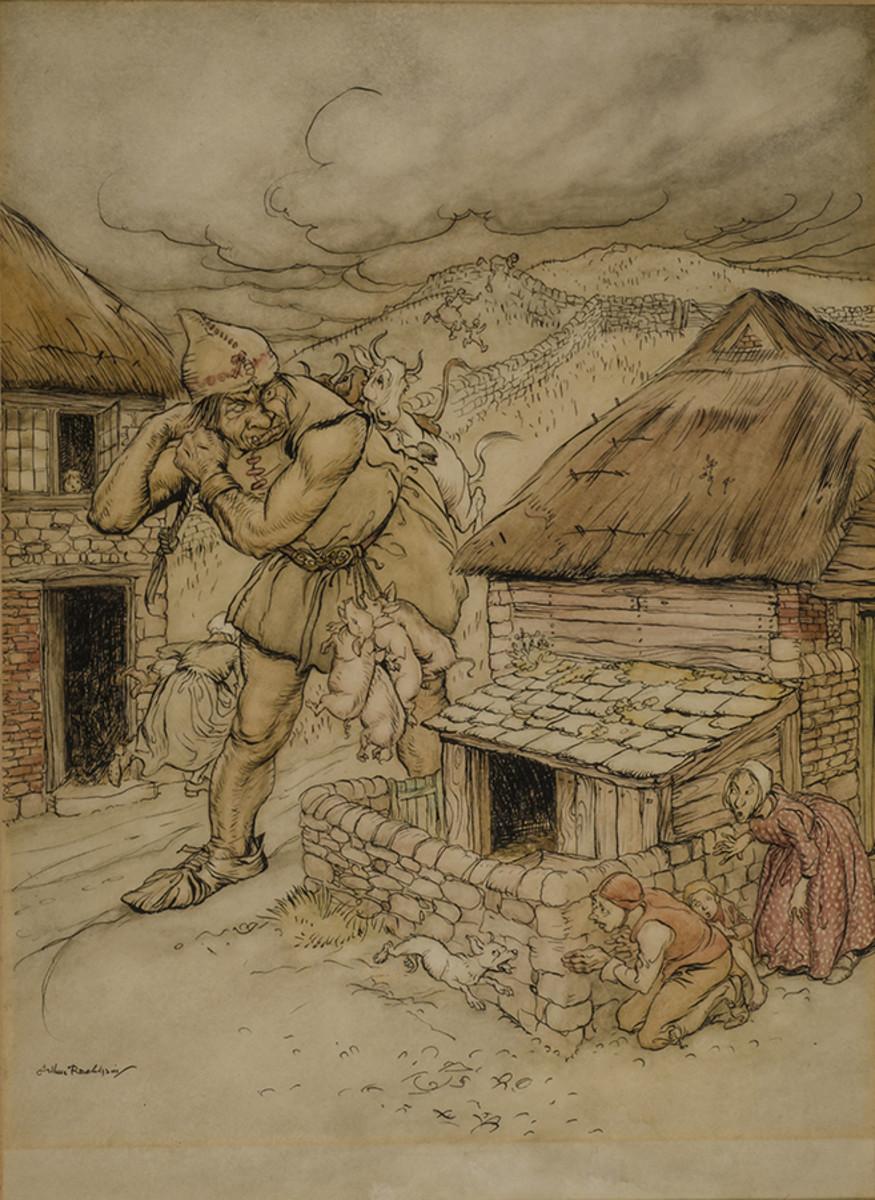 Cormoran -- Arthur Rackham
