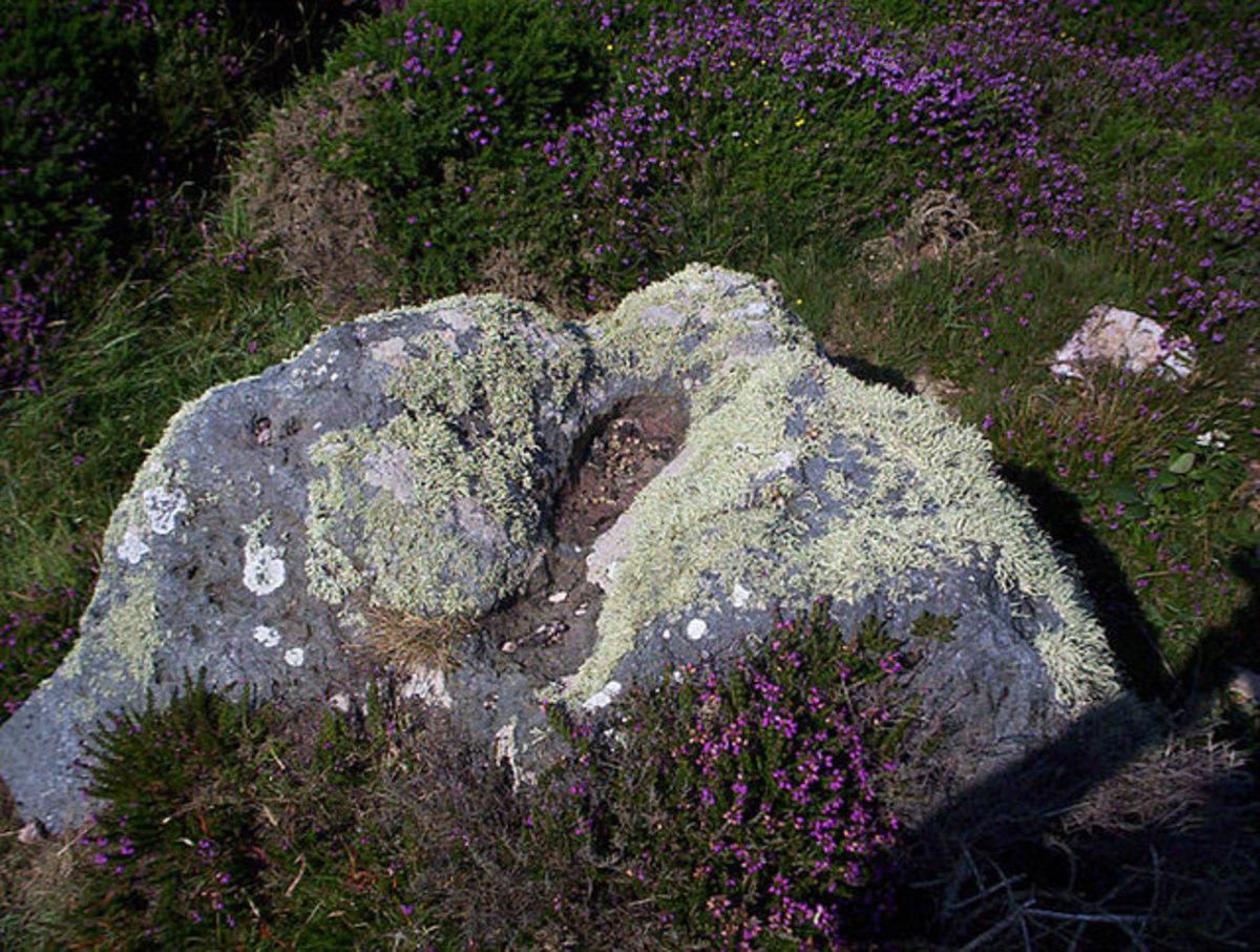 Bolster's footprint - Chapel Porth, Cornwall