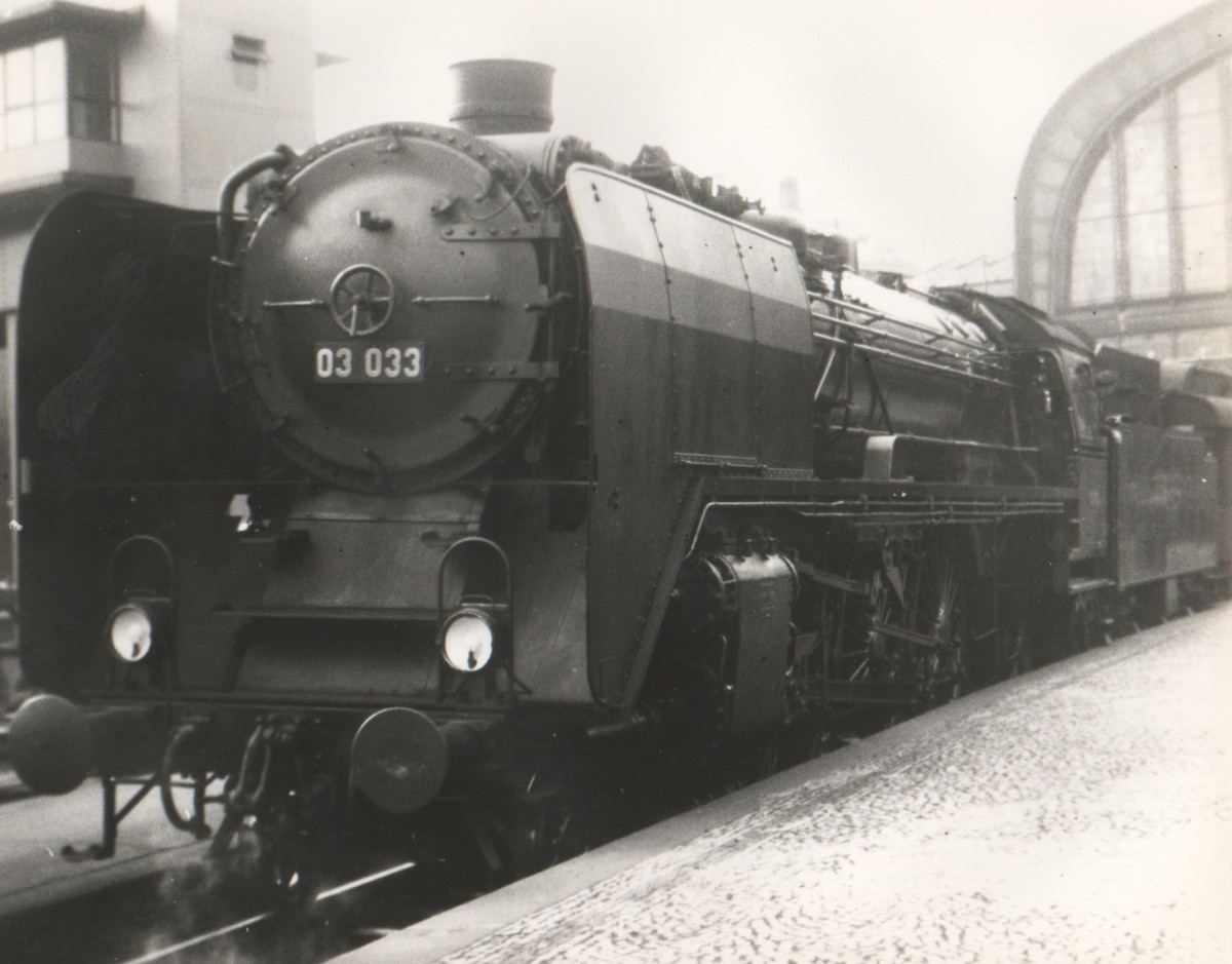 Dad's photo of a steam engine