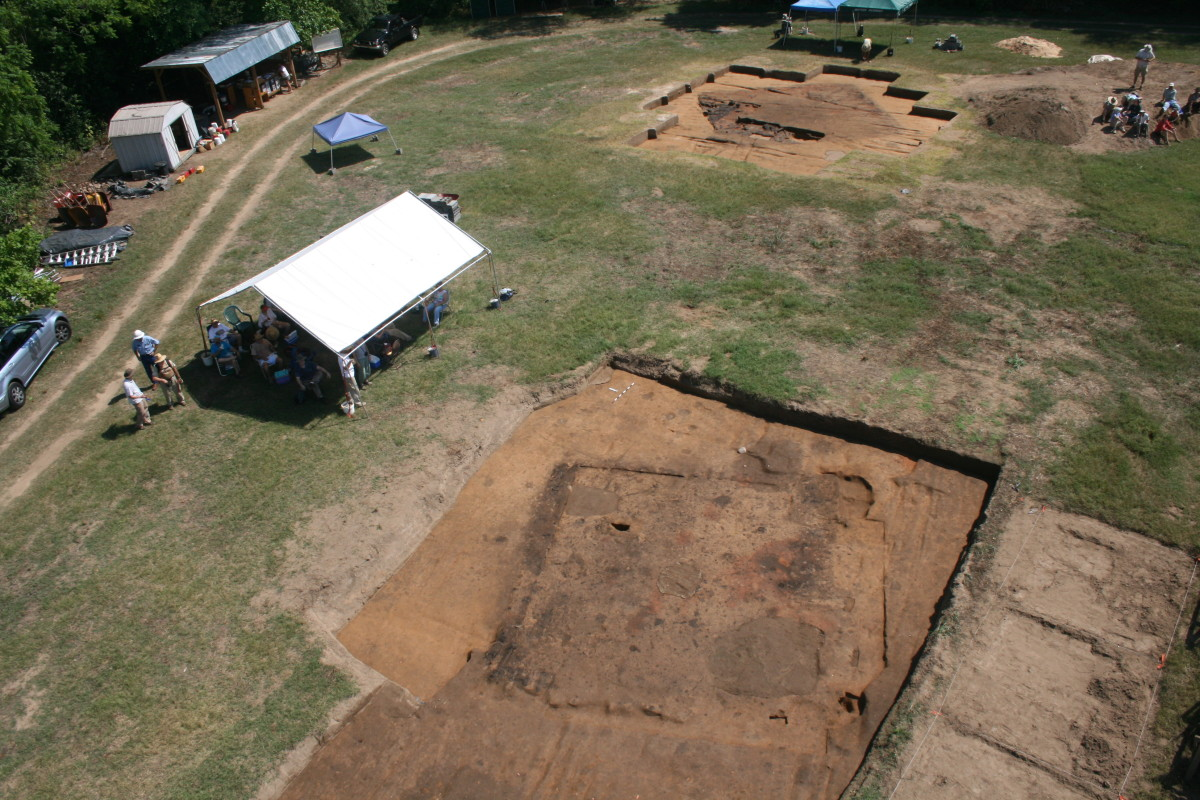 from excavation at Berry Site