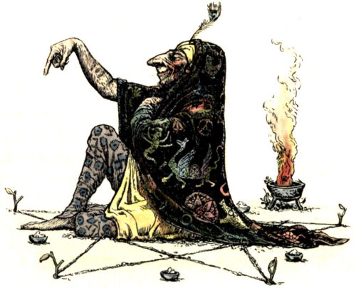 Shamanic figure by John D. Batten