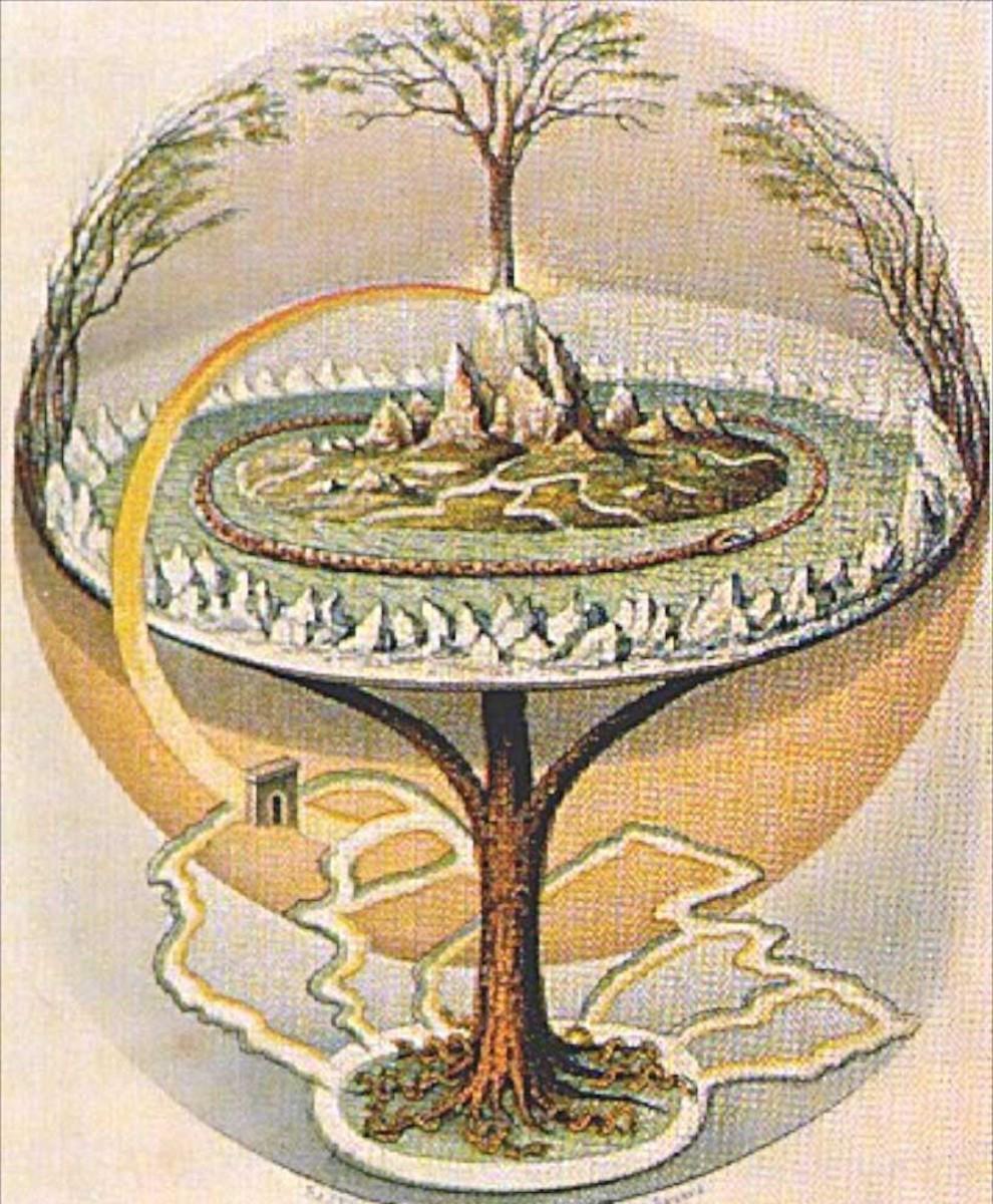 Yggdrasil, the Teutonic World Tree