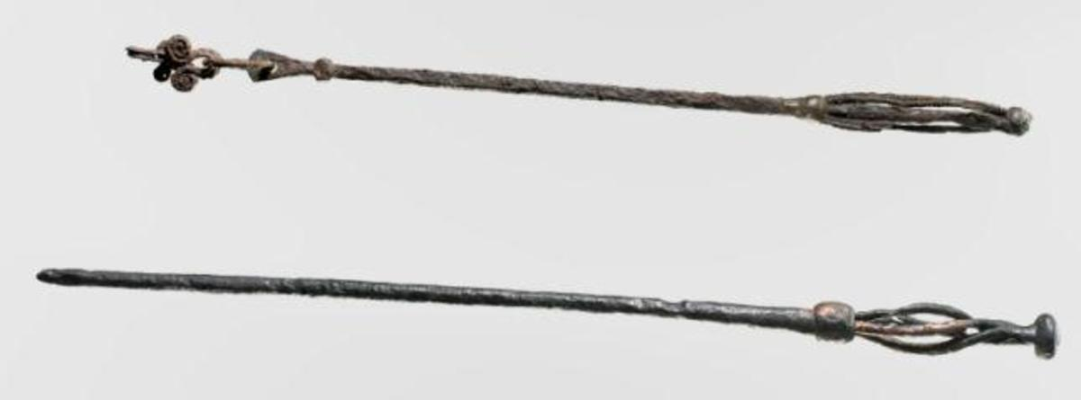 Two Seeress' staffs unearthed in Scandinavia