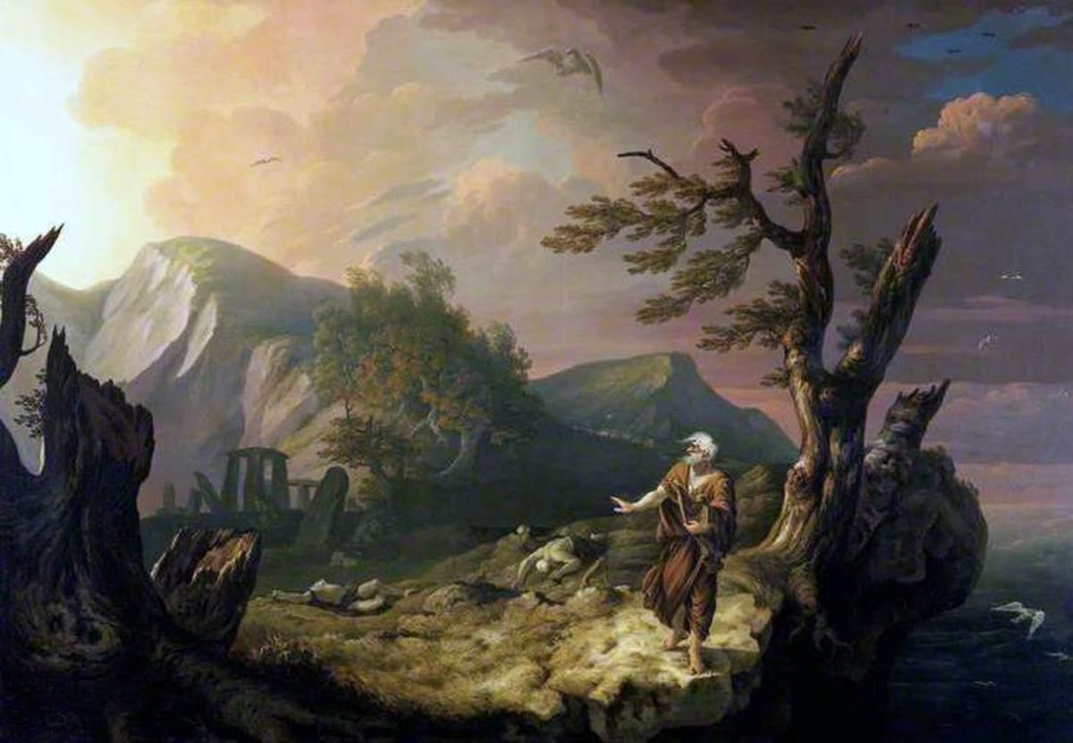 The Bard, by Thomas Jones