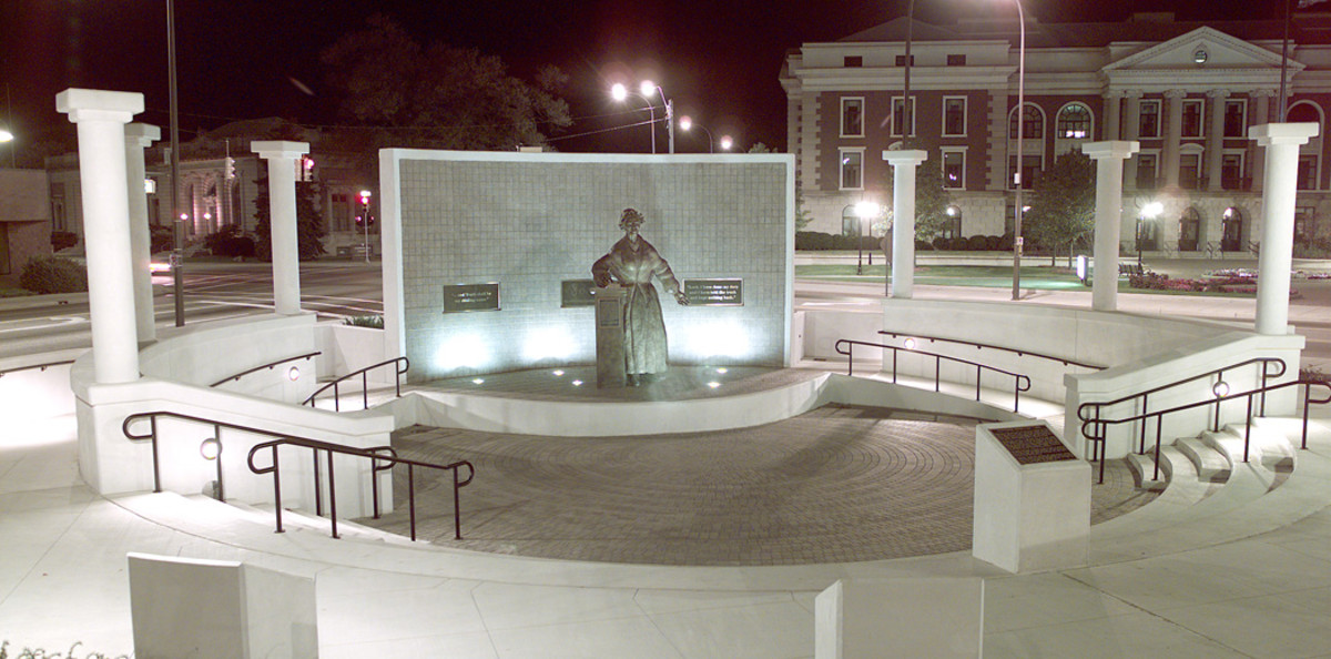Sojourner Truth monument, Battle Creek, MI