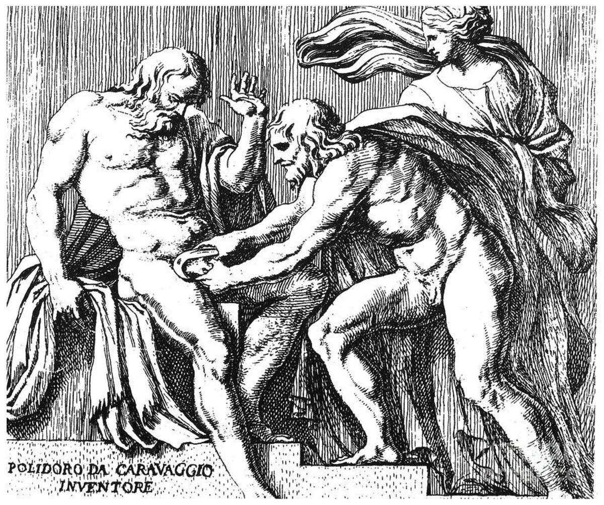 Cronos Castrating Uranus
