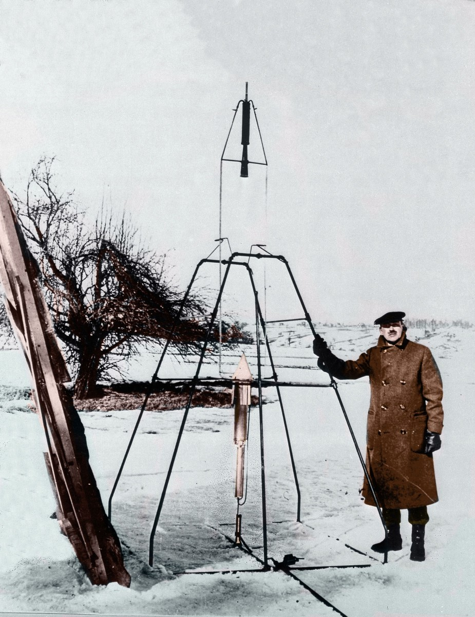 Goddard launched the first liquid-fueled rocket on March 16, 1926 in Auburn, Massachusetts.