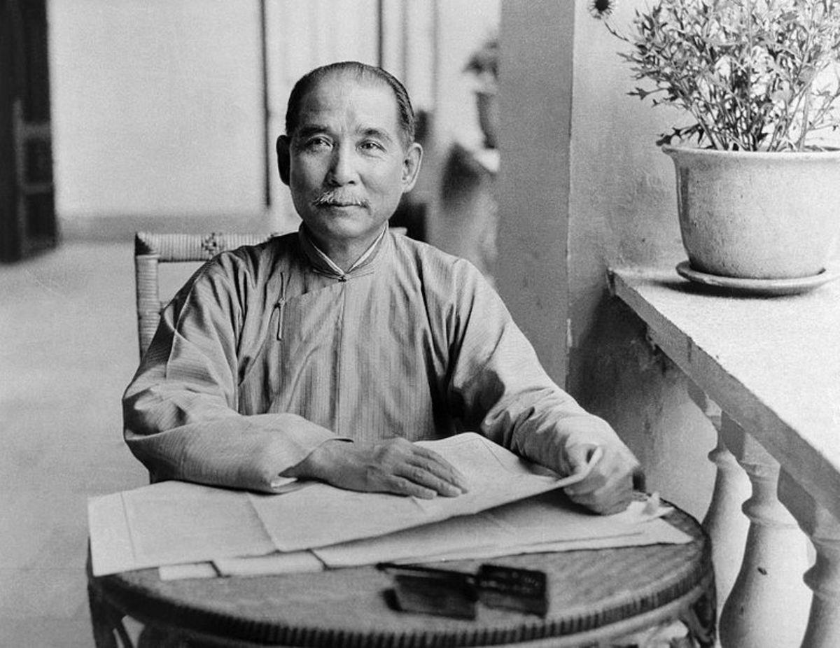 Dr. Sun Yat-sen in 1924.