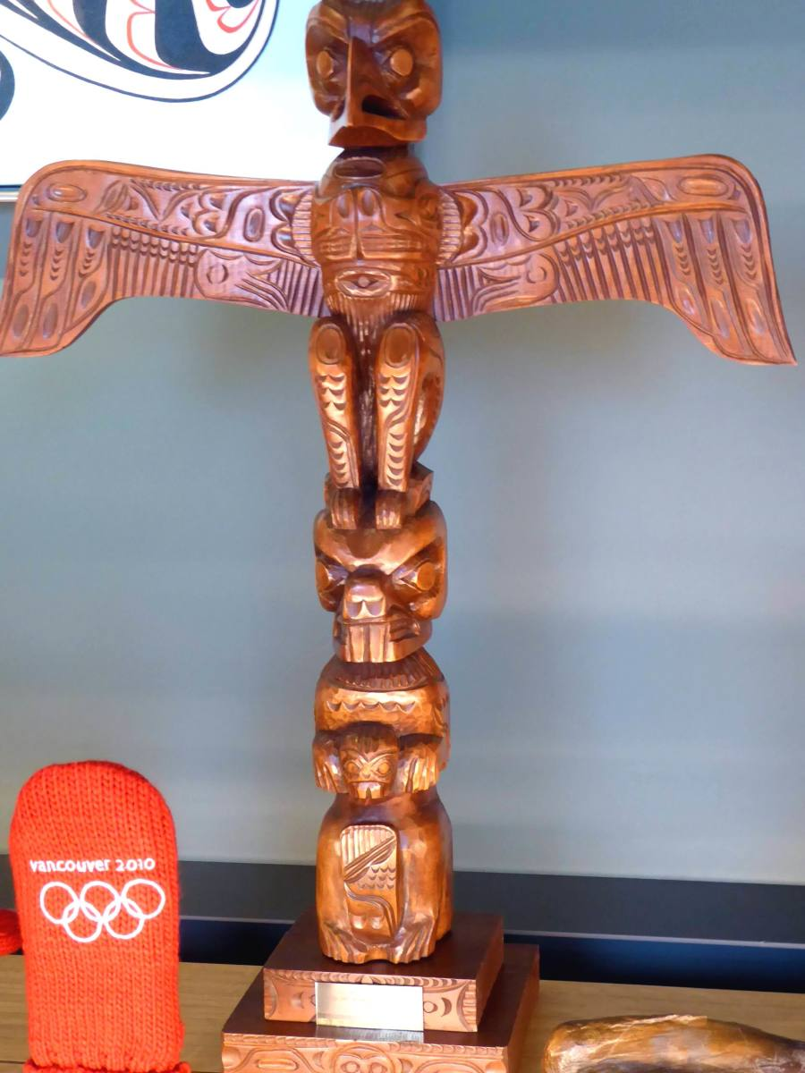 Totem Pole. Image by Frances Spiegel with permission from the Royal Collection Trust. All rights reserved.