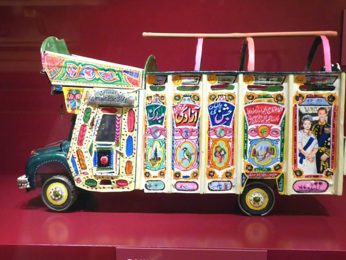 Painted Truck. Image by Frances Spiegel with permission from the Royal Collection Trust. All rights reserved.