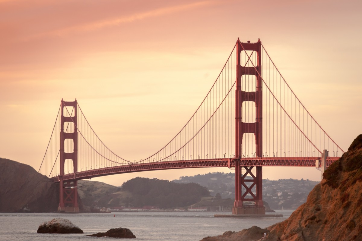 The Rio was found near the iconic Golden Gate bridge.