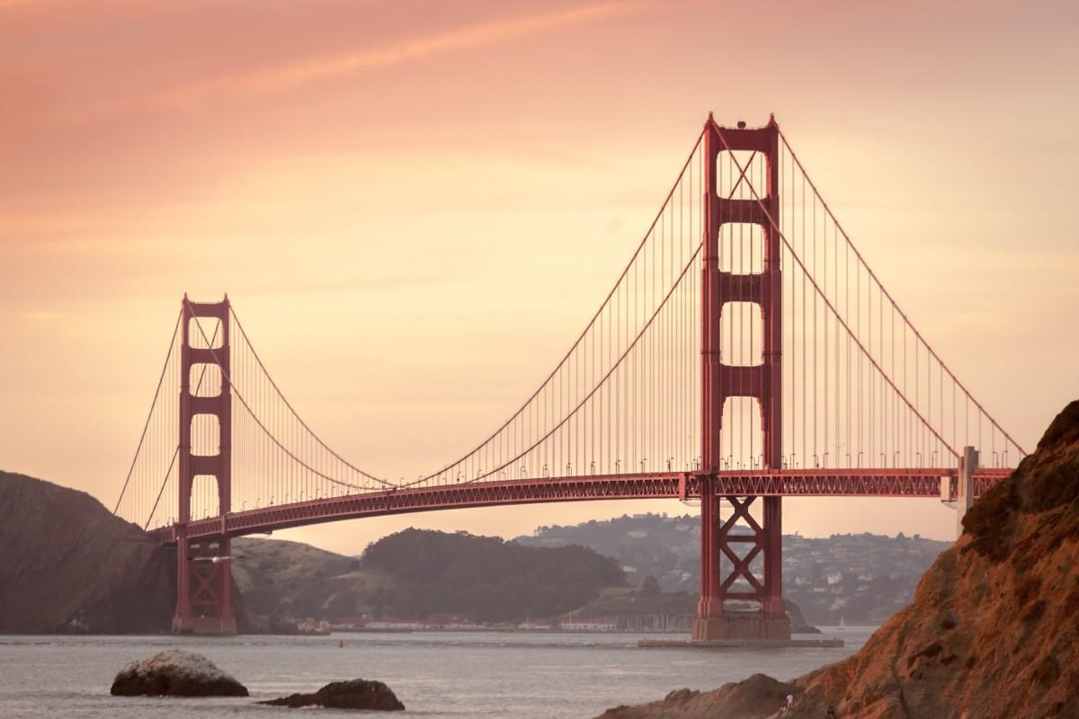 The Rio was found near the iconic Golden Gate bridge.