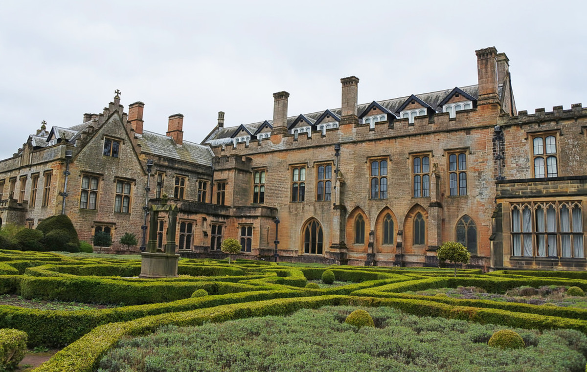 Newstead Abbey in 2017. Nowadays owned by Nottingham City Council and open to the public