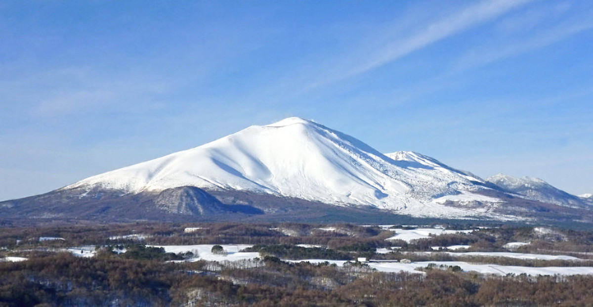 Beautiful Mount Asama is one of the most active Japanese volcanoes.