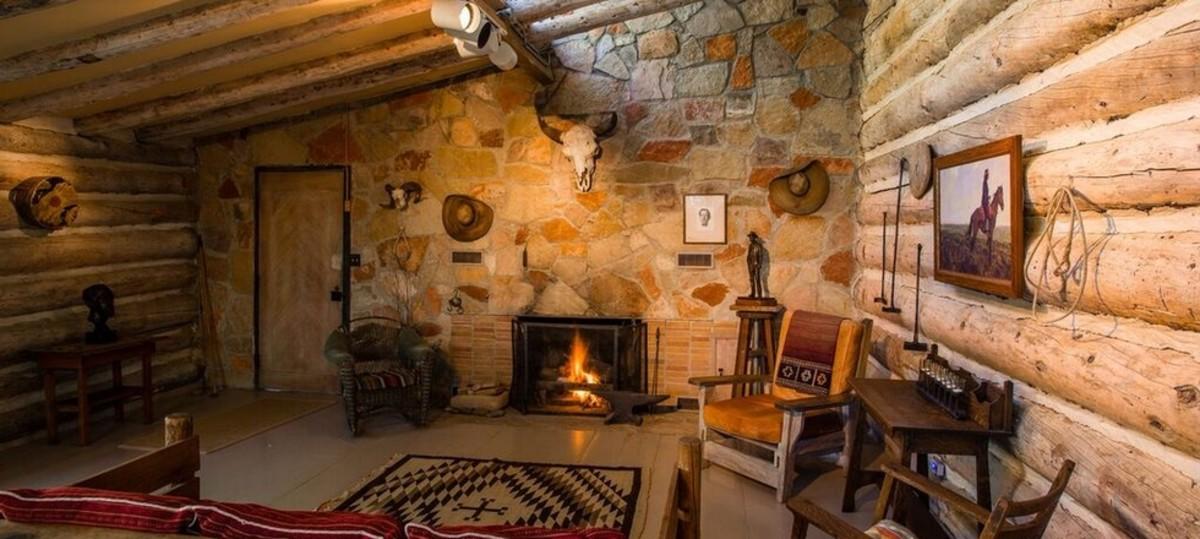 The Maynard Dixon Studio in Mount Carmel, Utah is open for curious visitors,