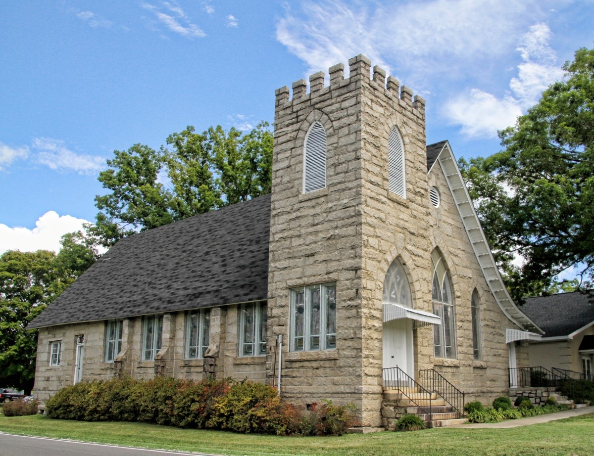 A building like James Peter's home church.