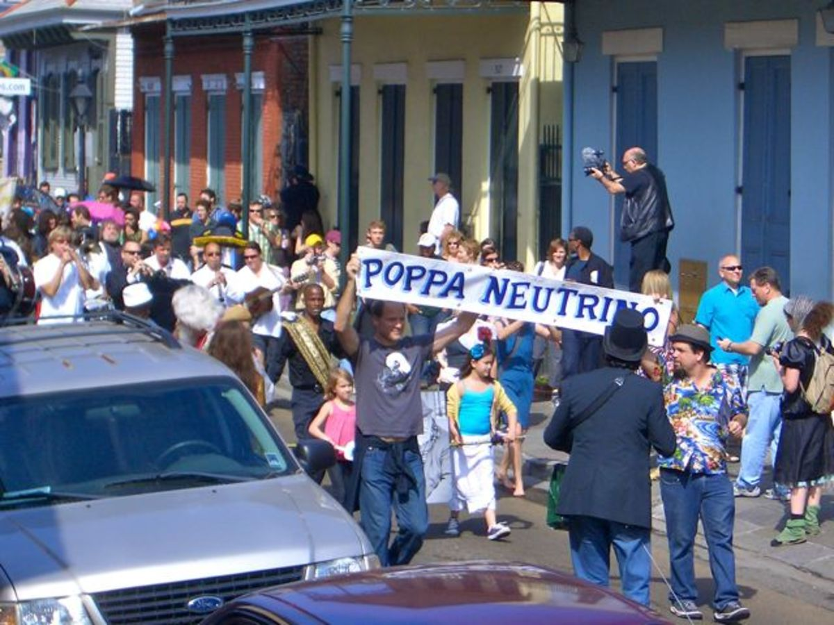 Funeral for Poppa Neutrino in New Orleans