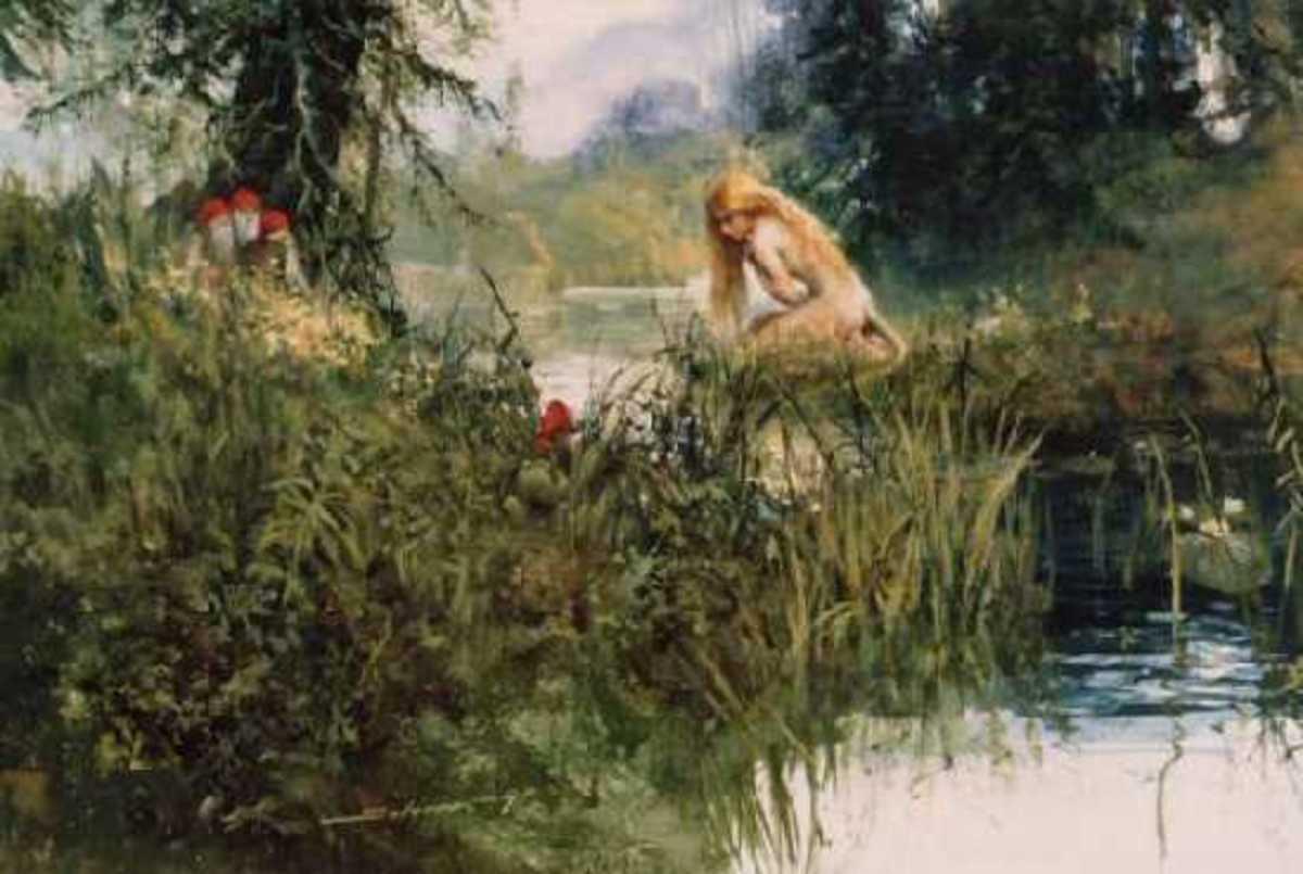 Huldra (public domain)
