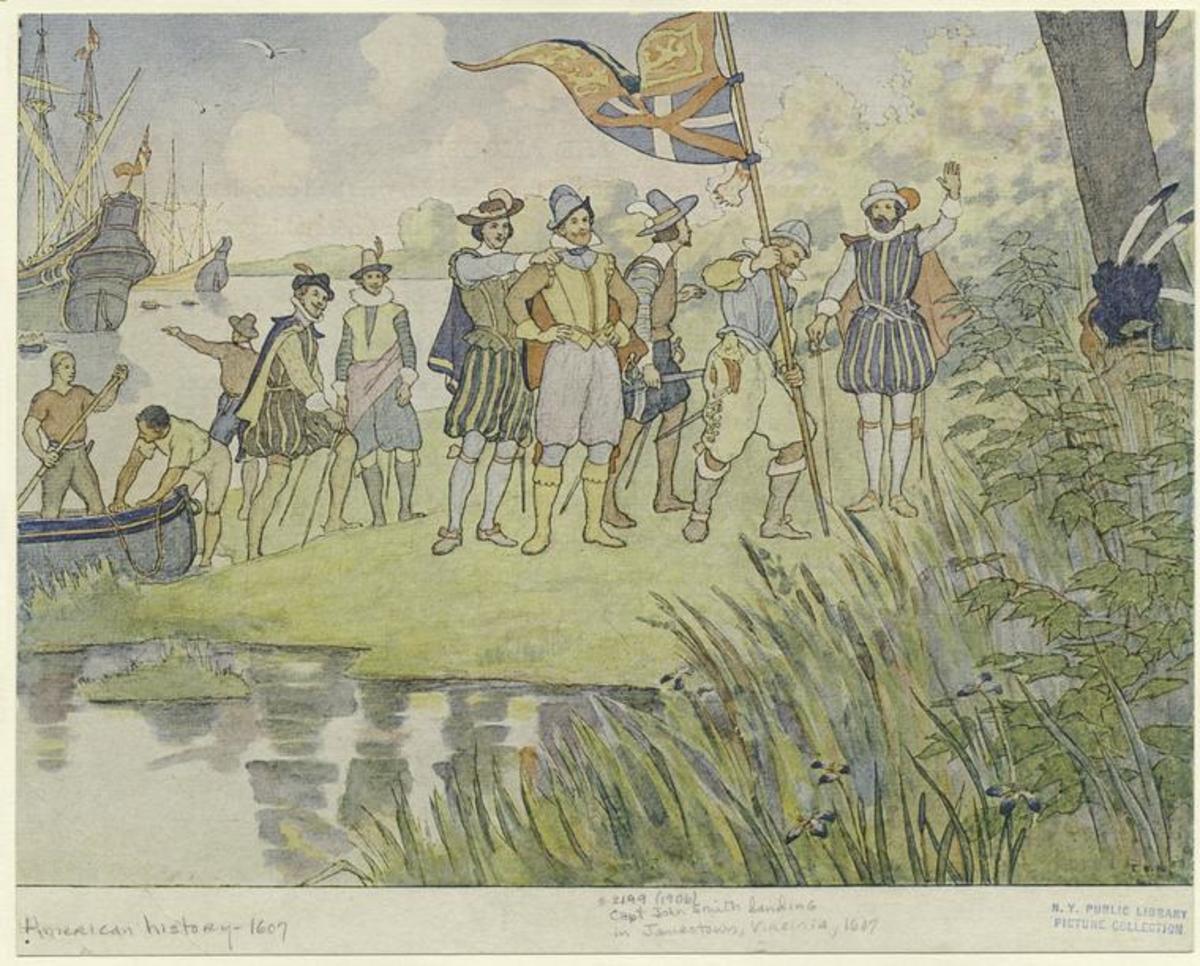 the-founding-of-jamestown