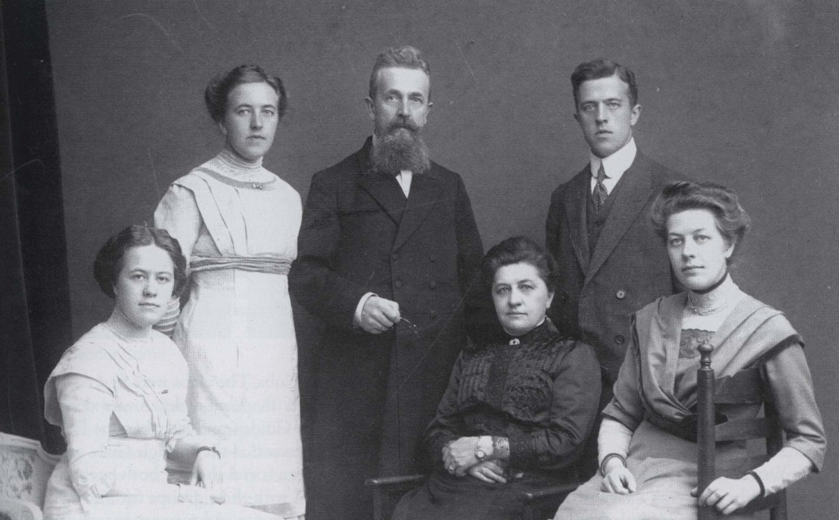 The  ten Boom Family in Happier Times. circa 1920