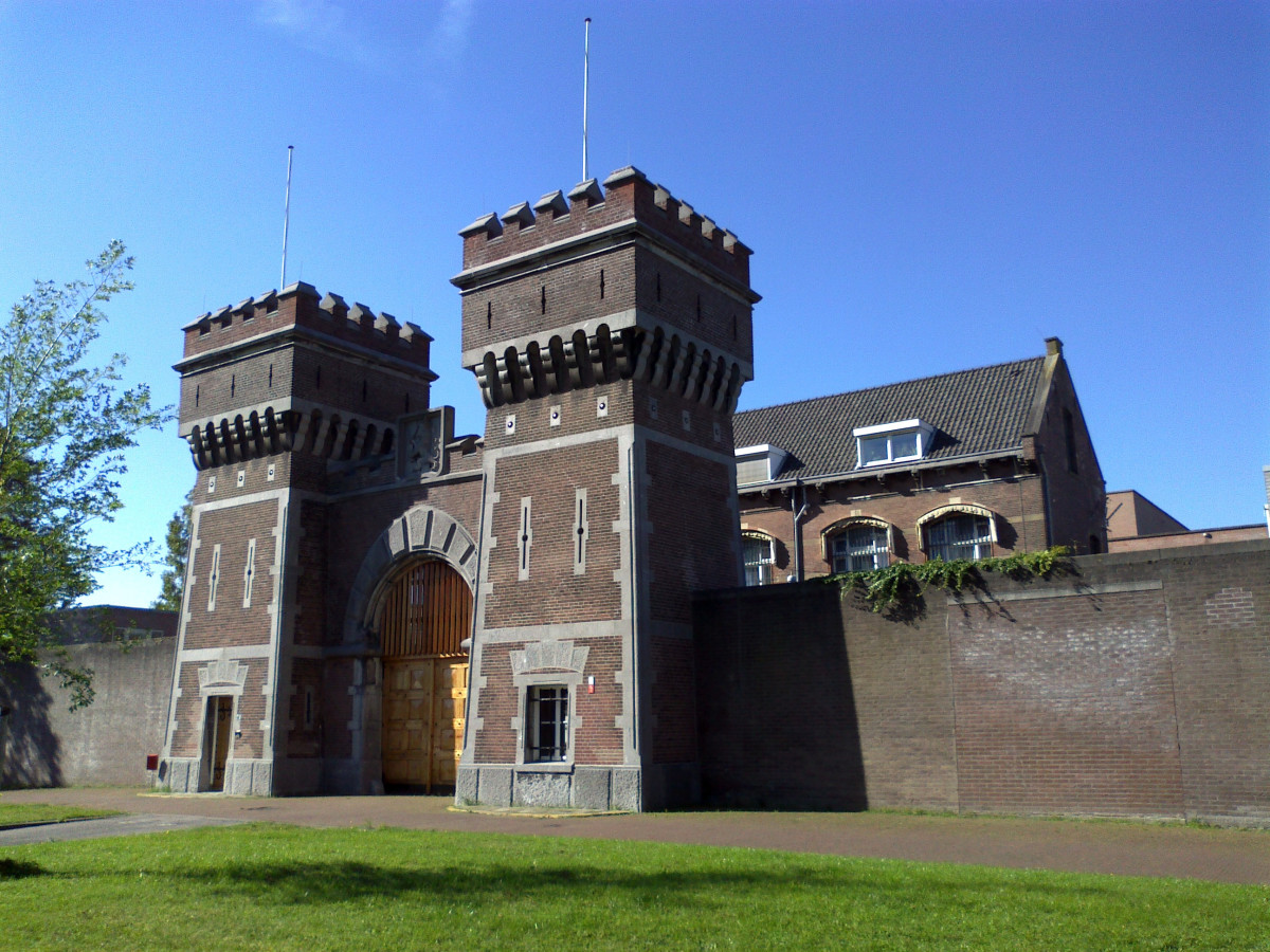 Scheveningen Prison, Holland, Where Corrie's Father, Casper, Died Shortly After His Incarceration There in 1944.