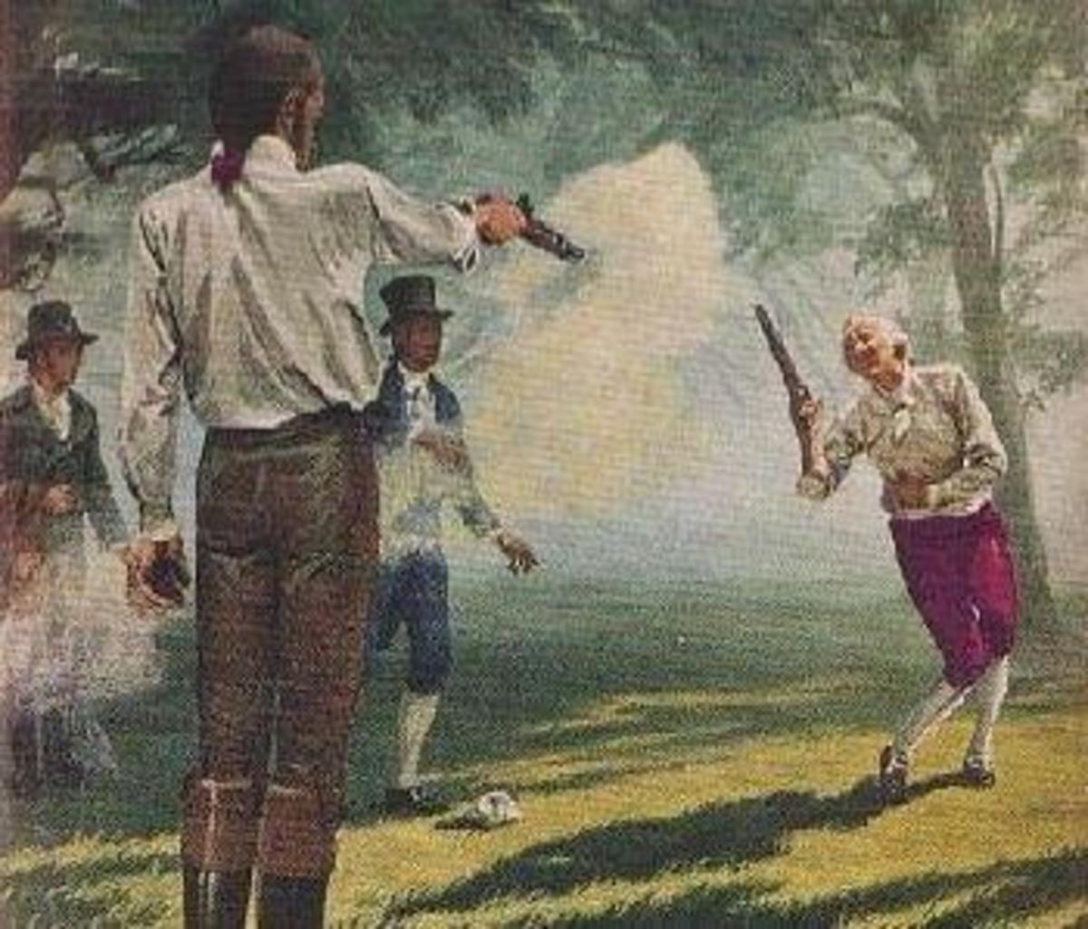 Burr Hamilton Duel.
