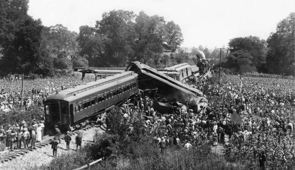 Do train wrecks draw crowds? Yes they do.