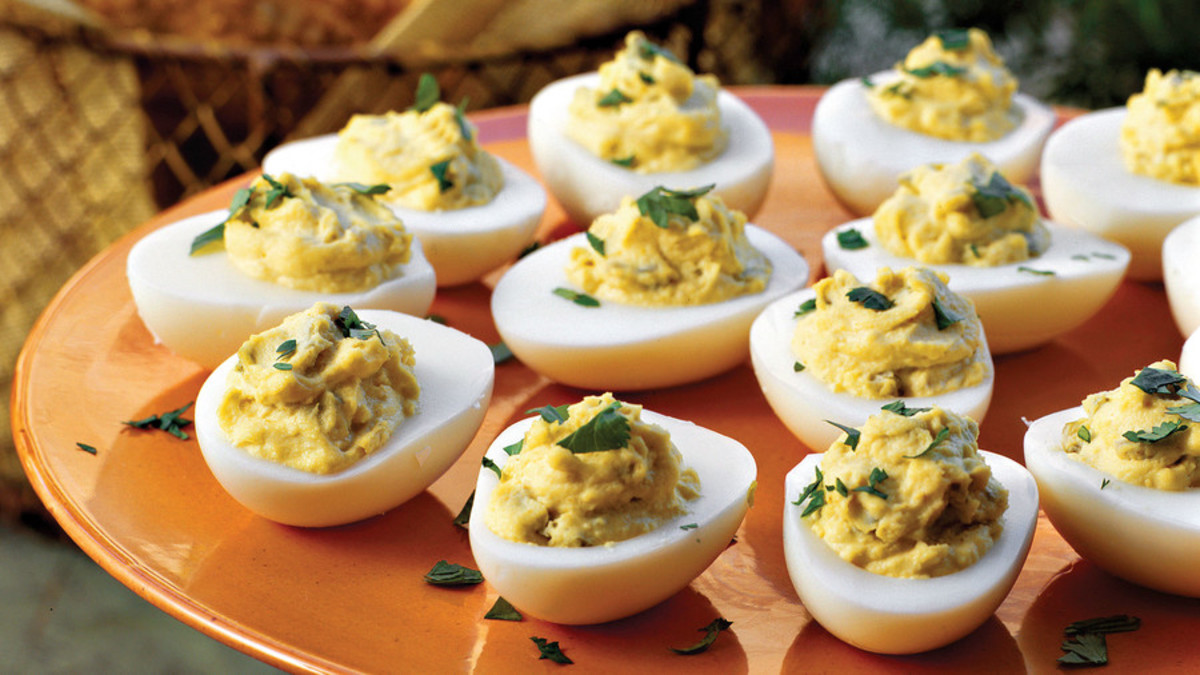 Delived eggs