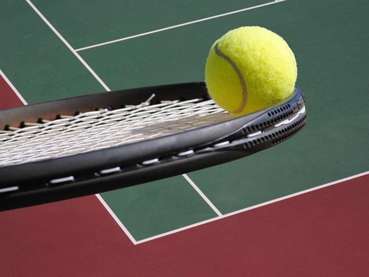 I don't play much sport, but I do enjoy watching a good game of tennis!