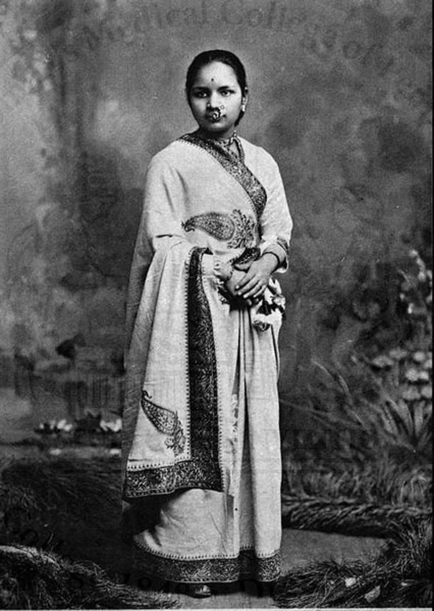 Anandi Gopal Joshi: First Female Doctor (1865 - 1887)