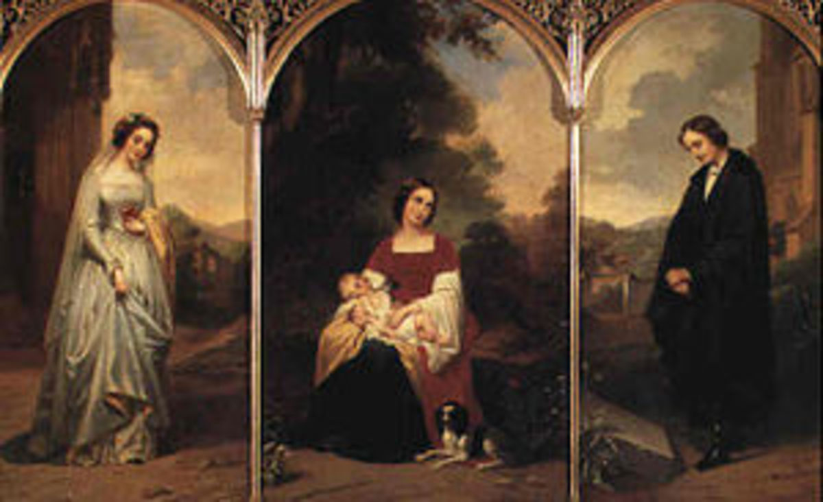 "Figure 3 ""The Life of a Woman: Pity - Love - Sorrow"" Fanny Geefs"