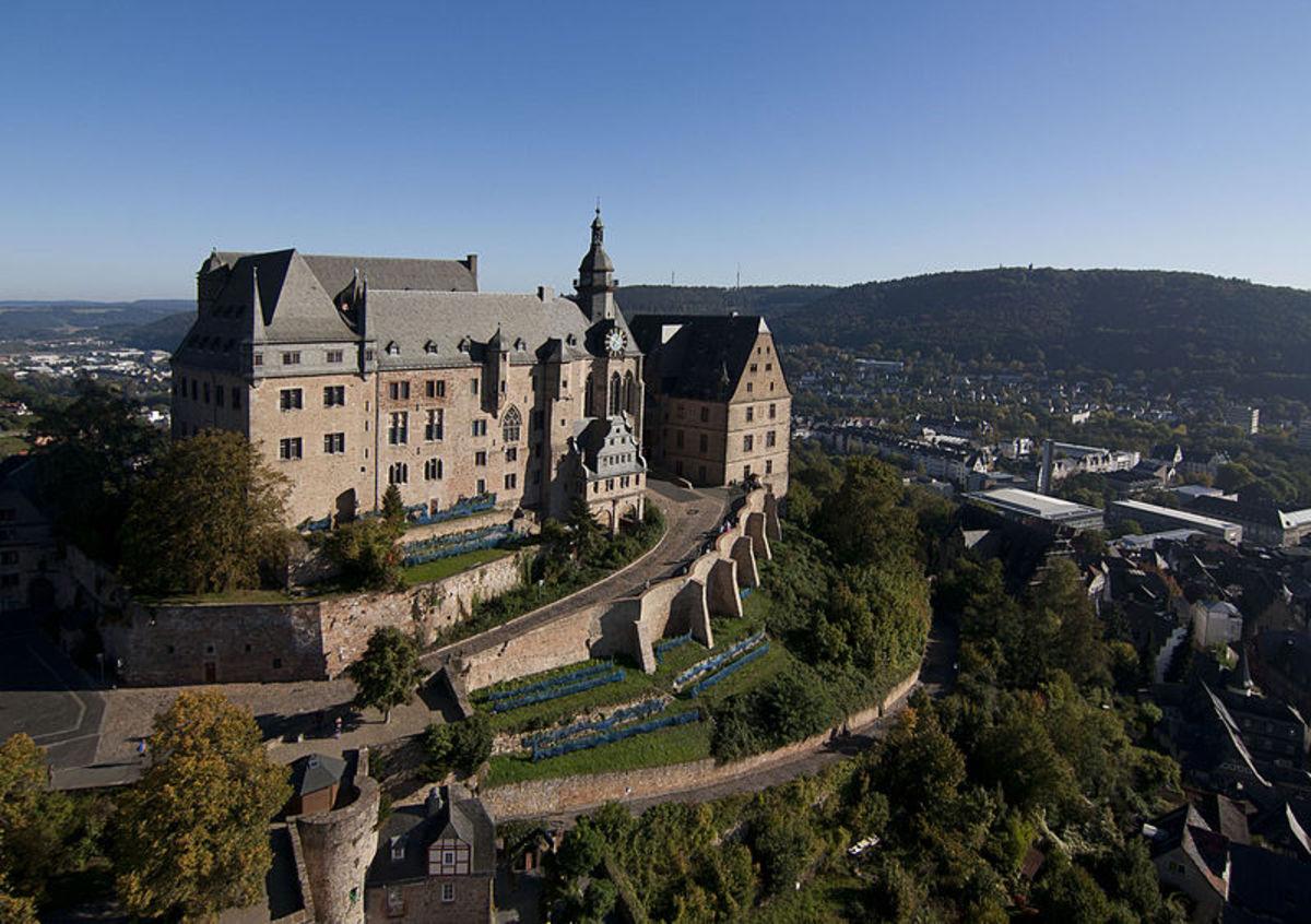 Marburg Castle.