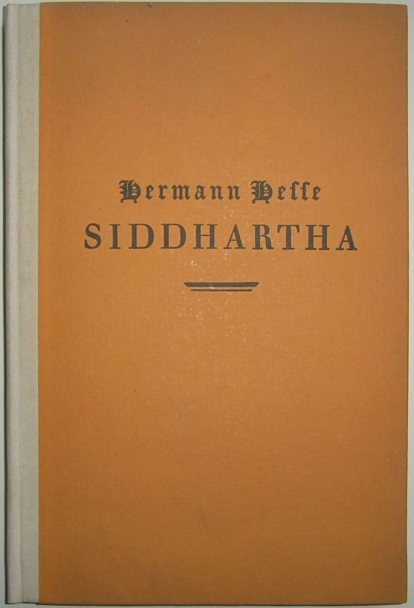 First edition of Siddhartha by Hermann Hesse, 1922. Photo by Thomas Bernhard Jutzas