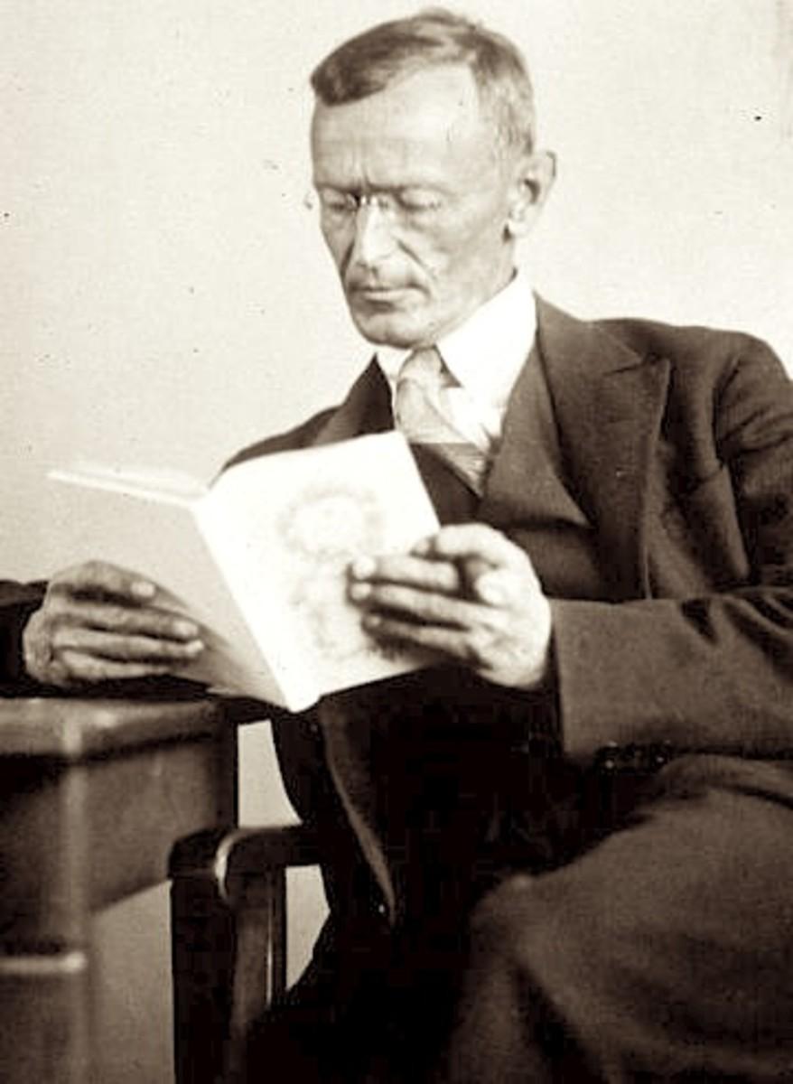 Hermann Hesse, 1927 by Gret Widmann