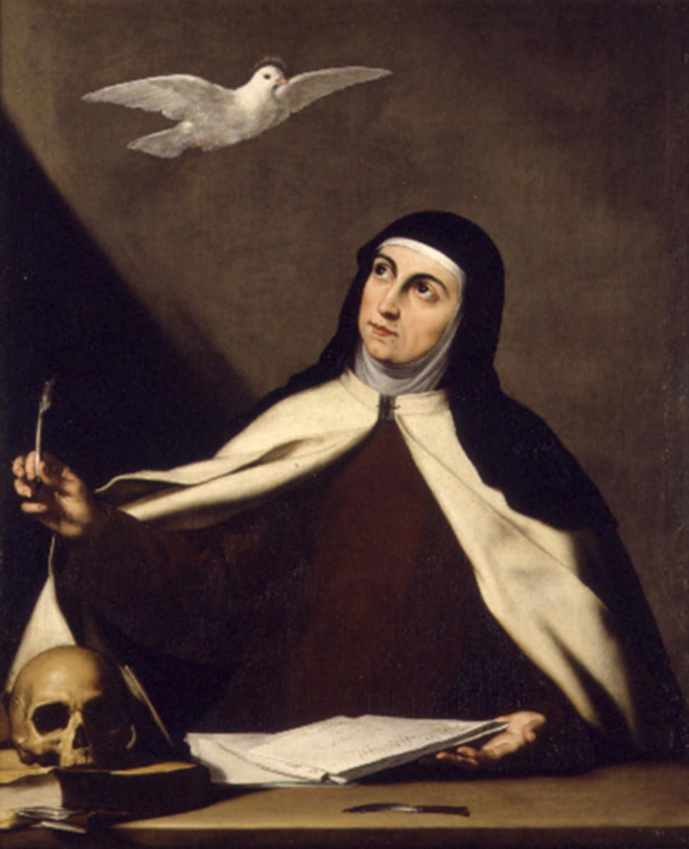St Teresa of Avila initiated the Discalced Carmelite reform.