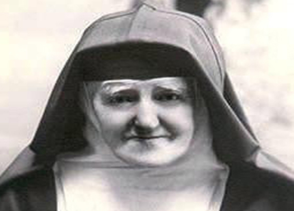 Léonie Martin as an elderly Visitation nun