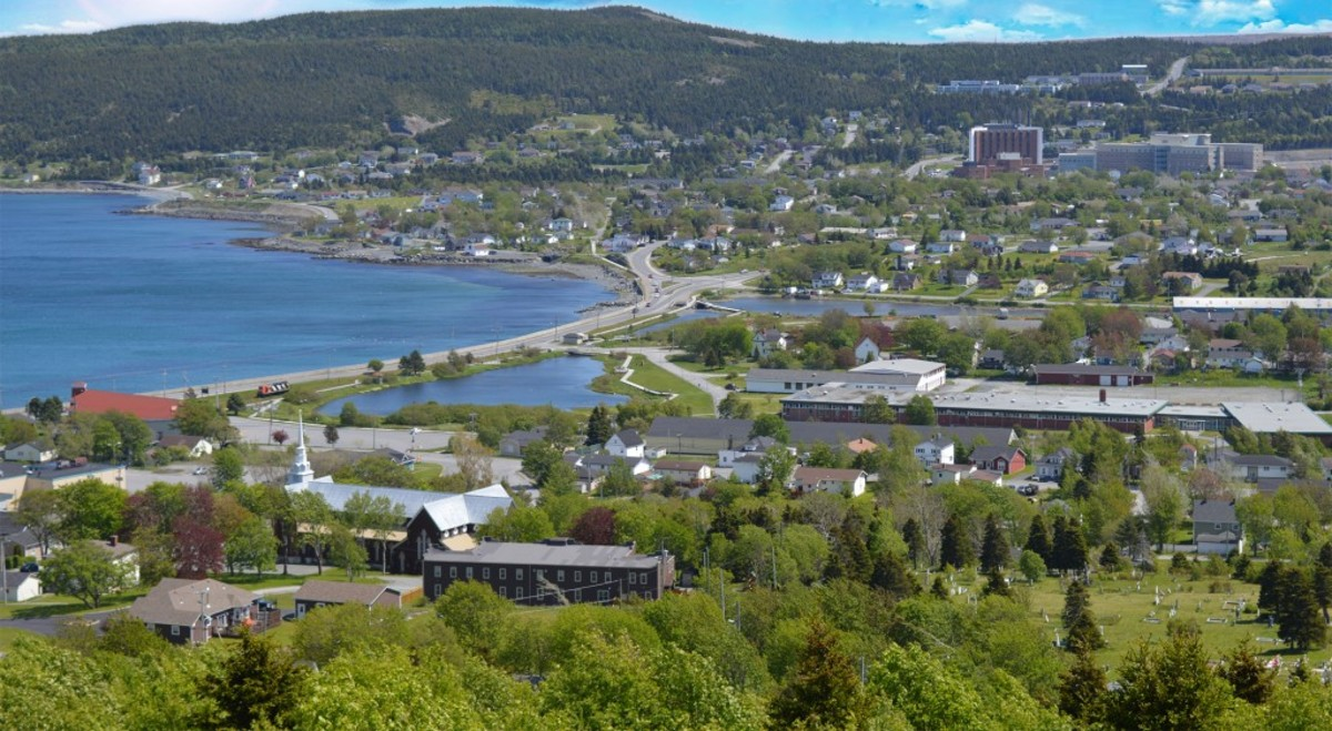 The town of Carbonear as it looks today.