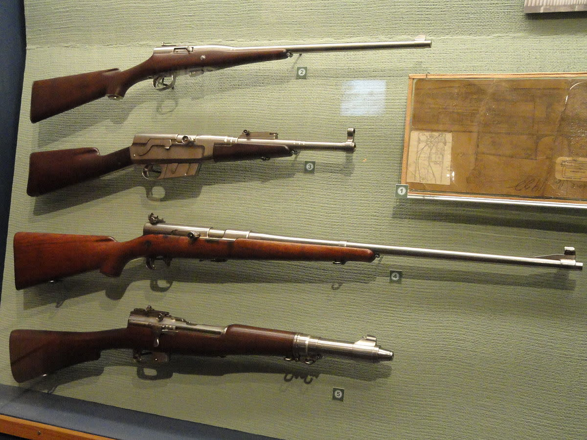 "The weapons ""Carbine"" Williams made while incarcerated."