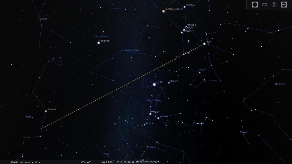 Image 5: the star Alphard