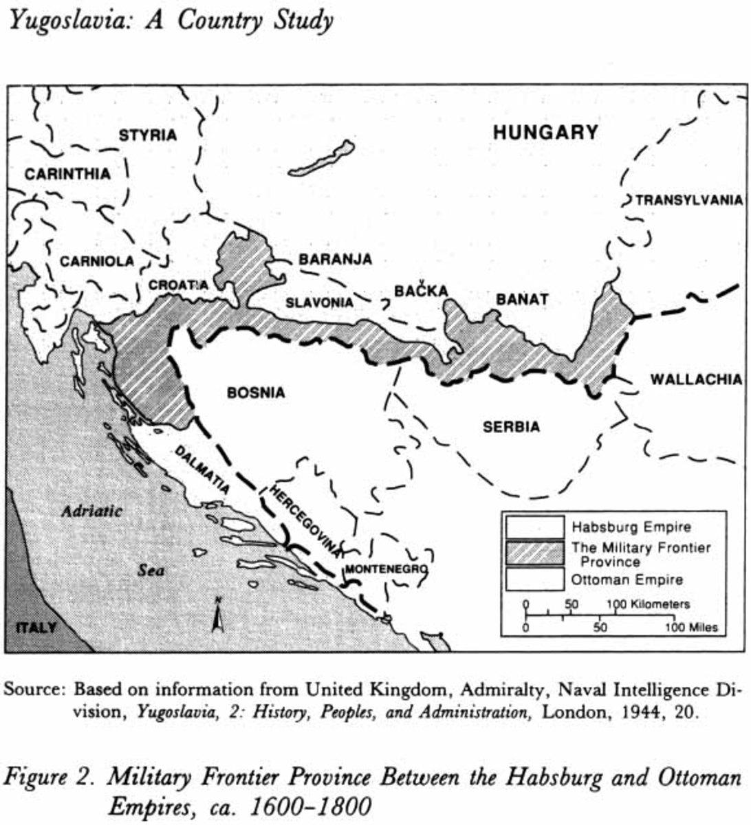Austrian military frontier.