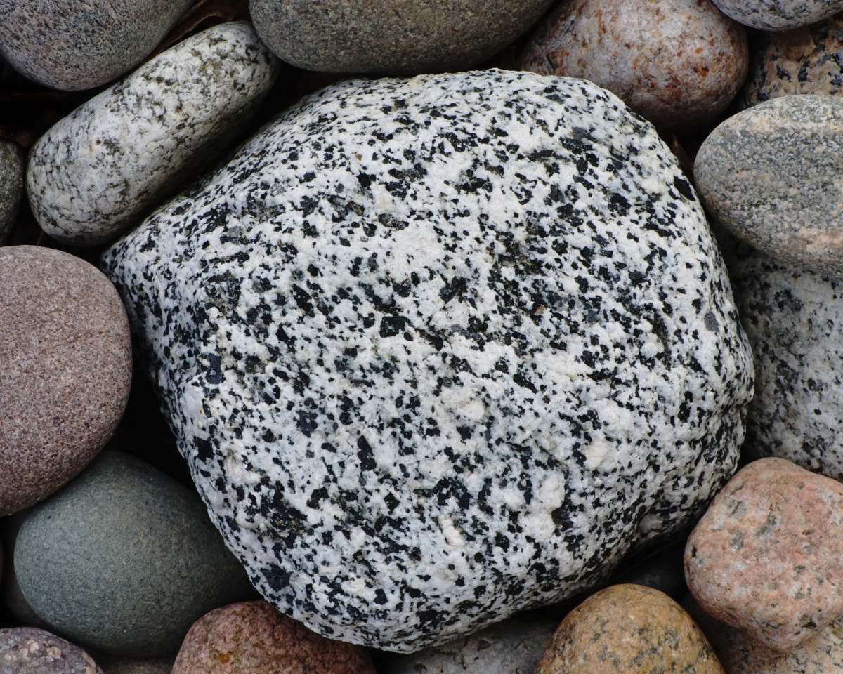 Diorte  -  Lake Michigan Beach Stone
