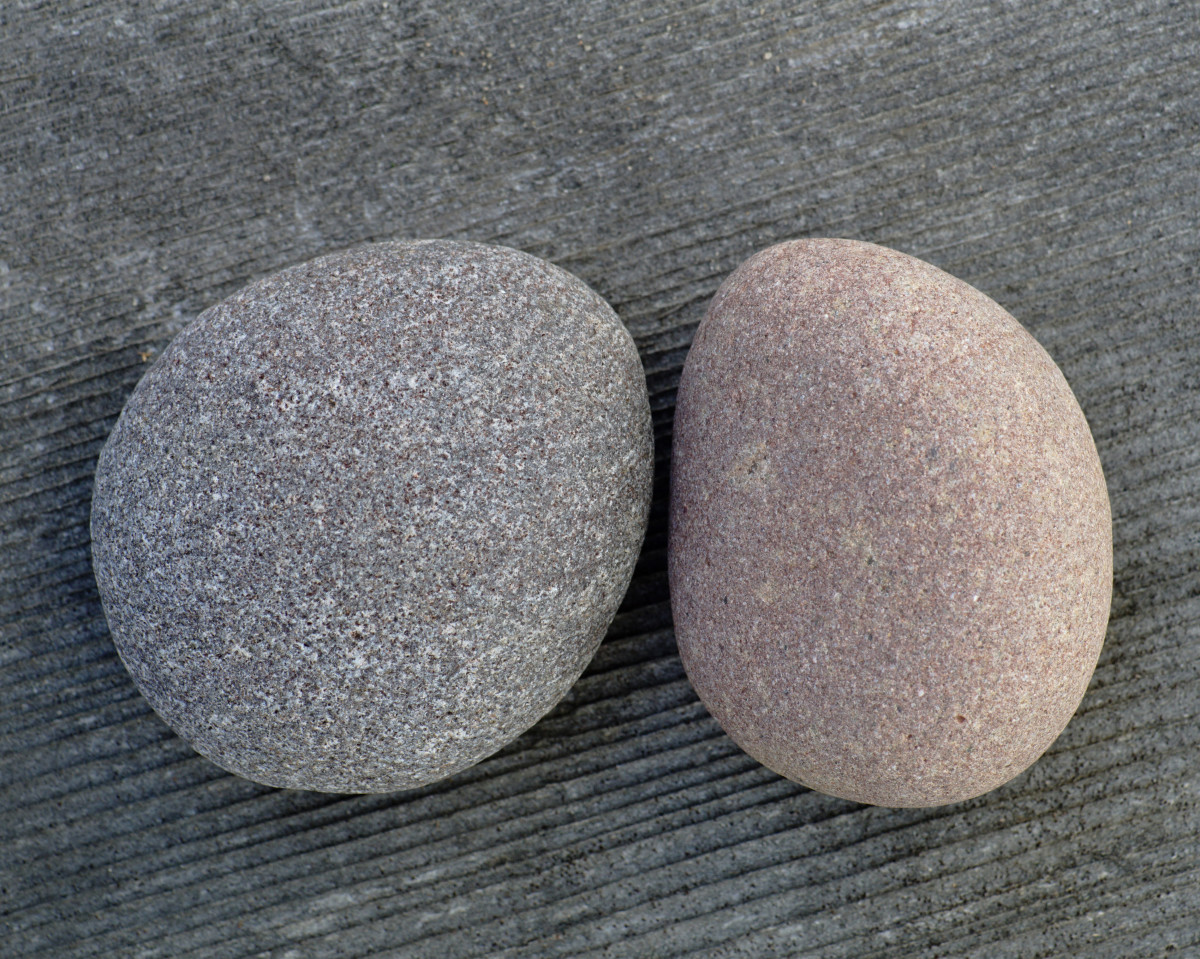 Basalt -  Lake Michigan Beach Stones
