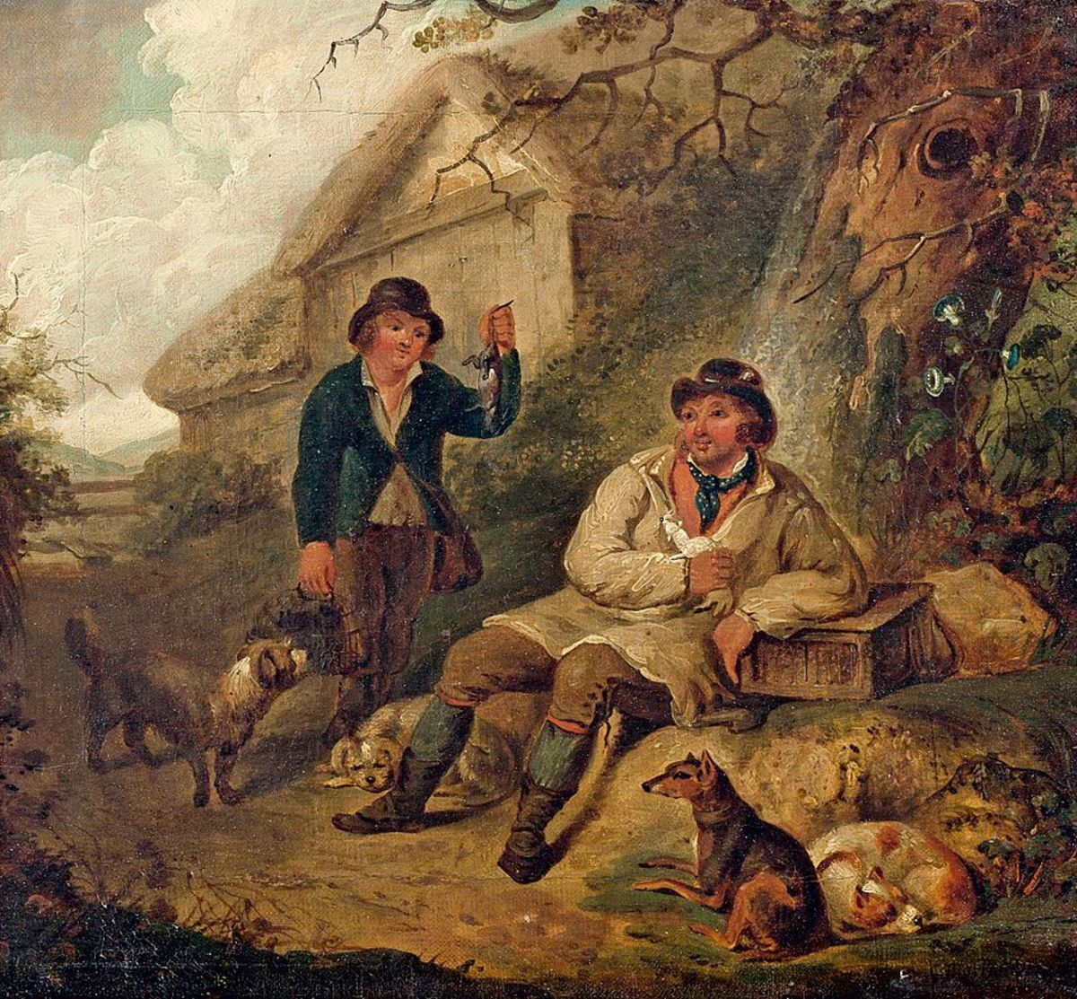 Rural life according to George Morland 1793.