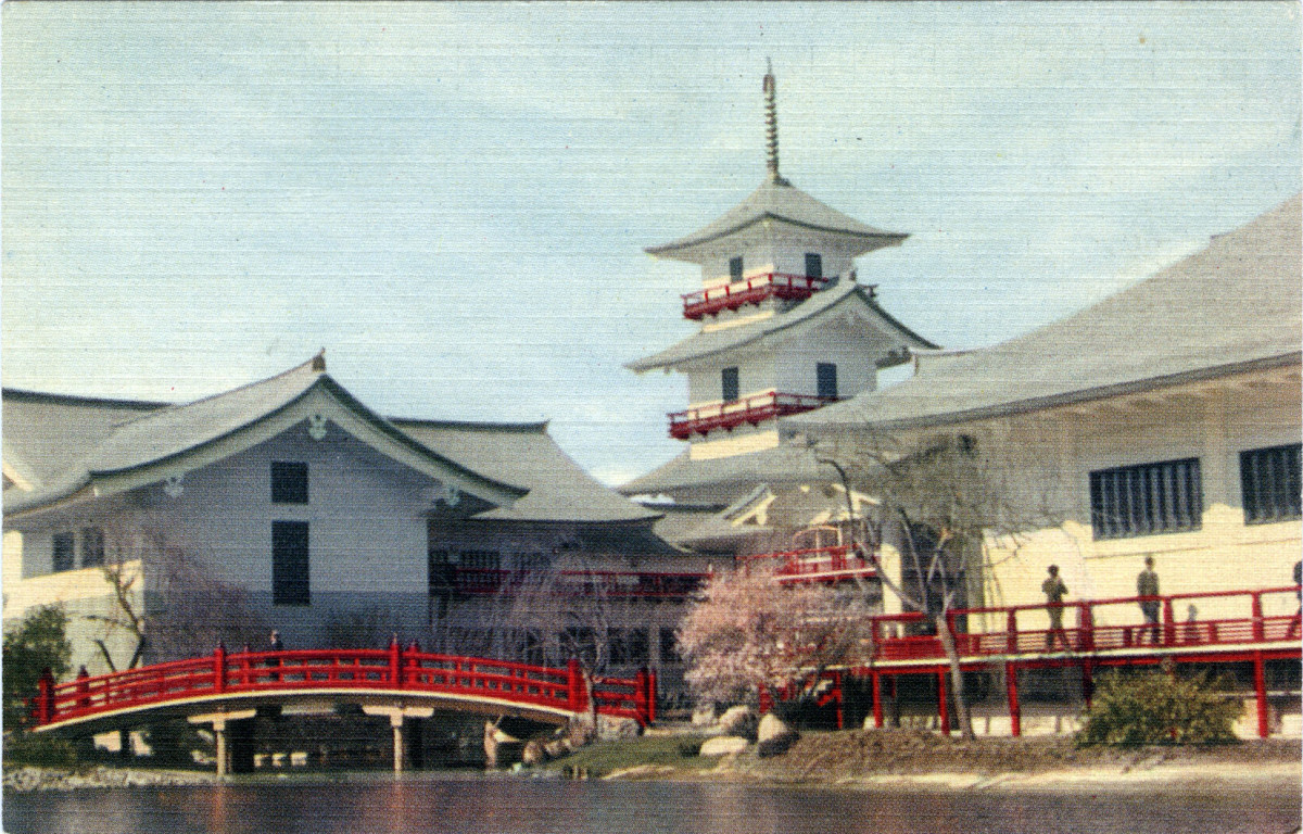 The Japanese pavilion at the 1939 world fair in New York.