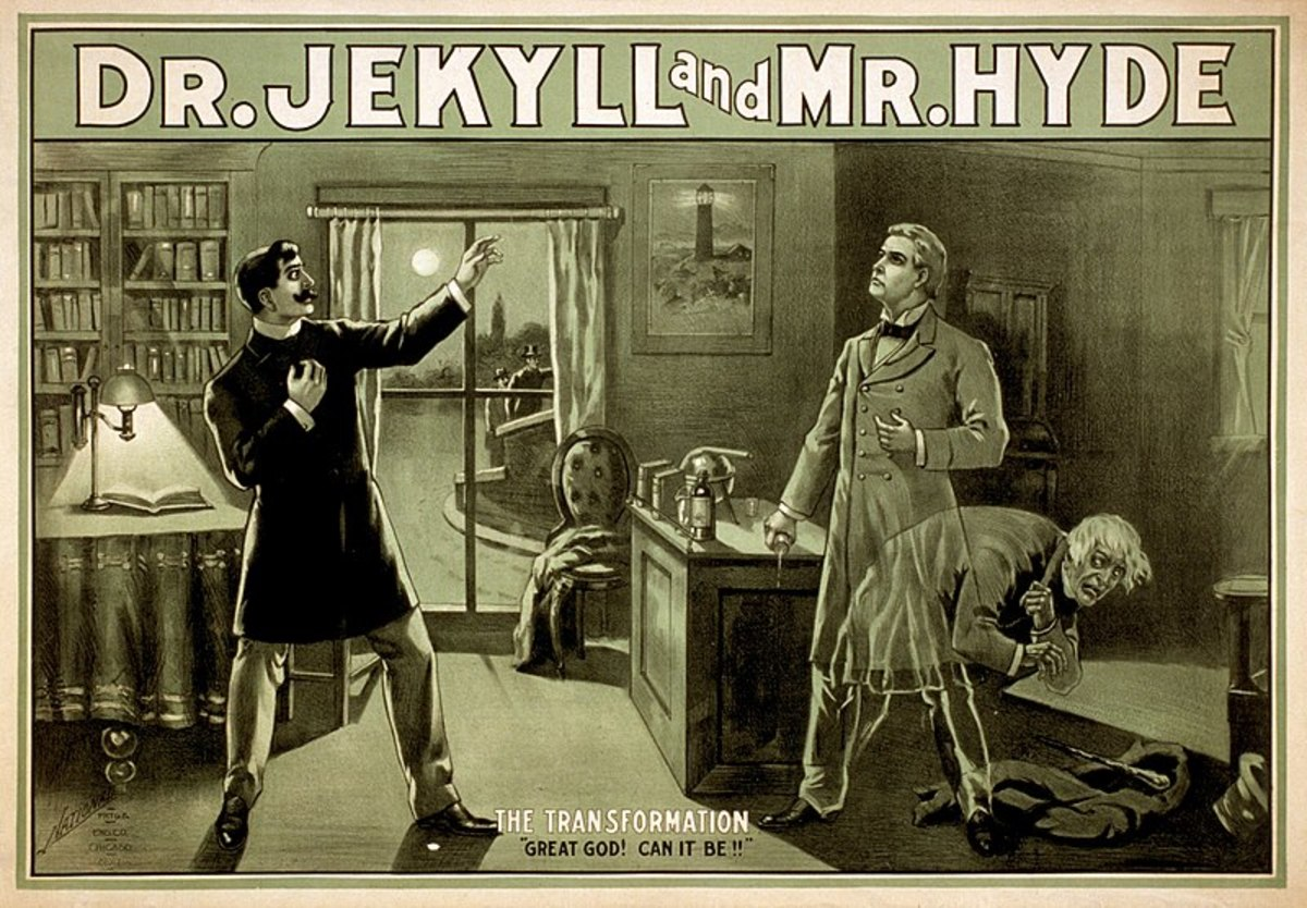 Robert Stevenson Louis was recovering from a hemorrhage, when he had a nightmare of the first transformation scene of Dr. Jeckel and Mr. Hyde.