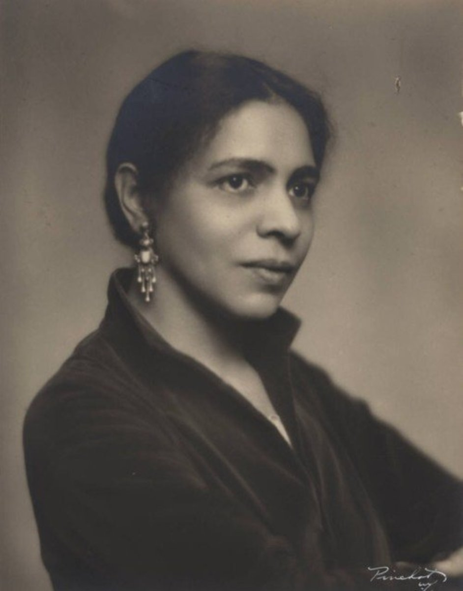 Nella Larsen battle with her identity all her life