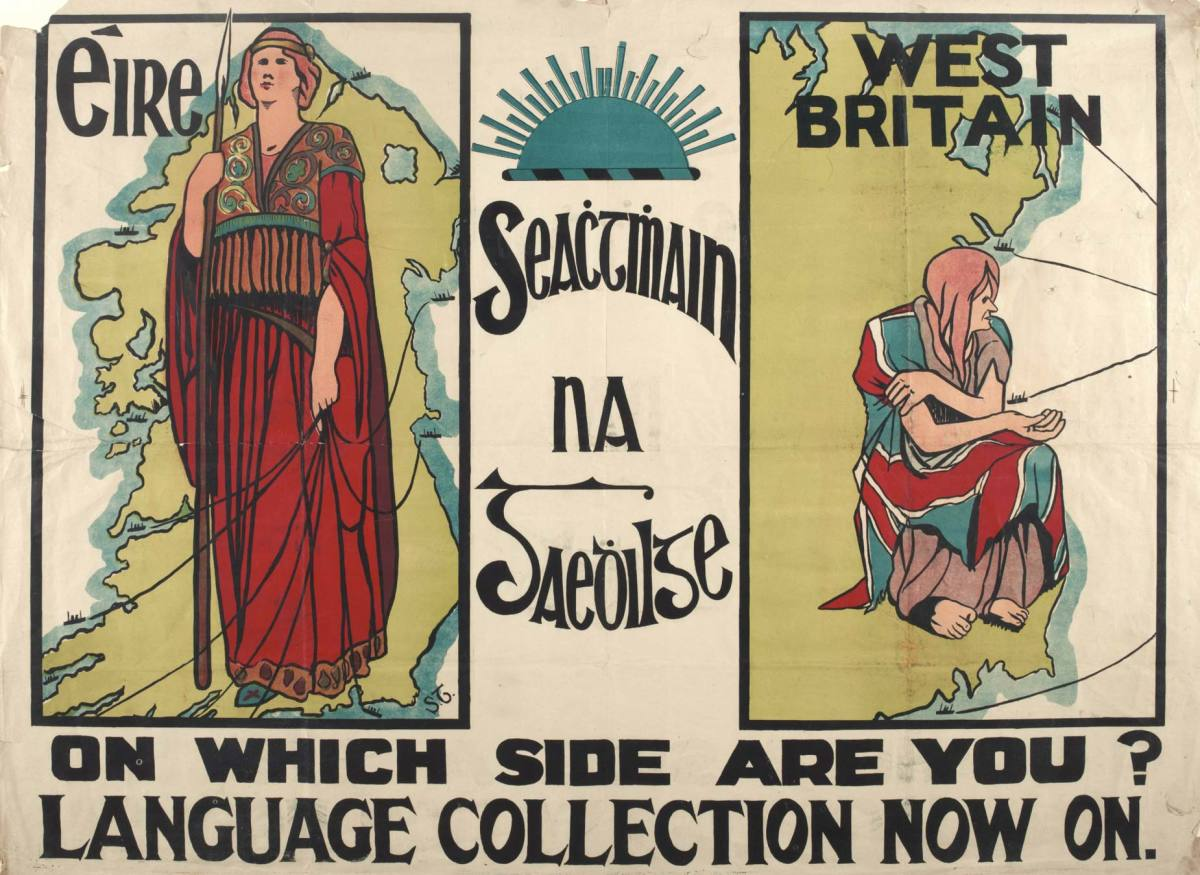 The Gaelic League always emphasised the difference between Ireland and England