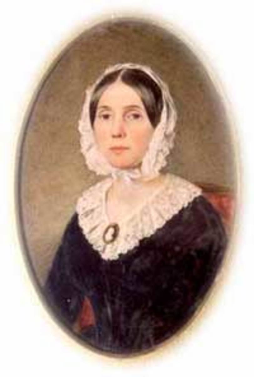Floride Calhoun, wife of Vice President Calhoun.